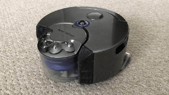 robot aspirapolvere dyyson