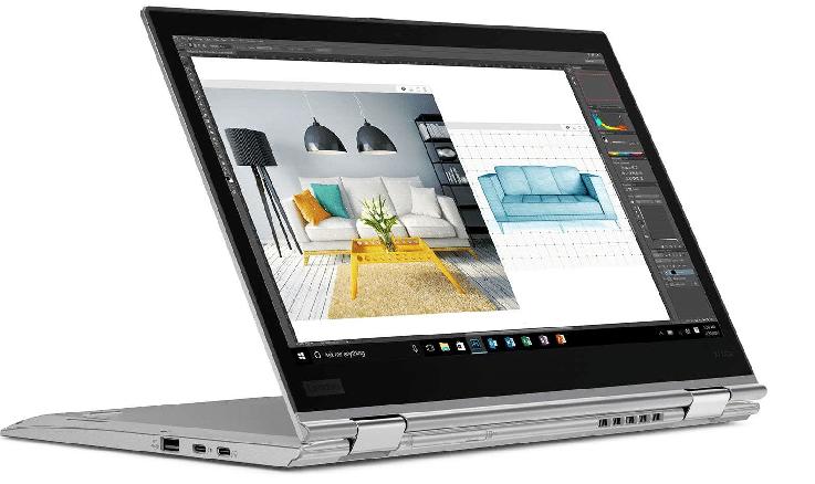 Lenovo ThinkPad X1 Yoga portatile per scrivere.jpg
