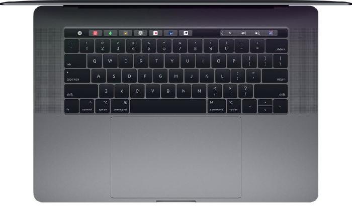 macbook pro 2018 tastiera