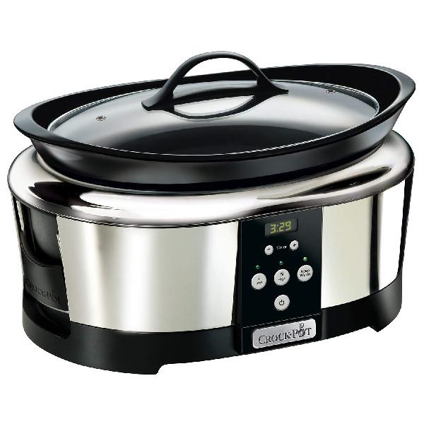 Crockpot 5.7 litri pentola cottura bassa temperatura