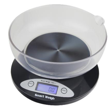 Smart Weigh bilancia da cucina con ciotola