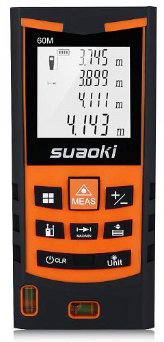 misura distanza laser suaoki s9