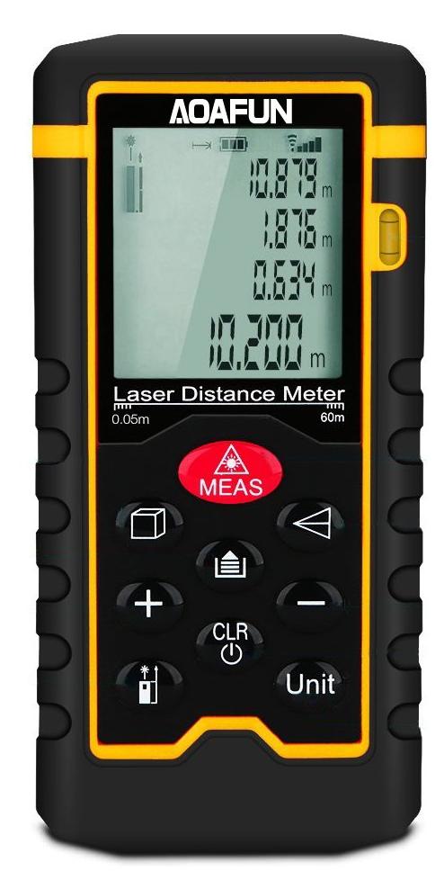 misuratore di distanza laser aoafun