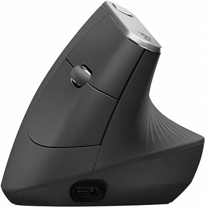 mouse wireless logitech ergonomico